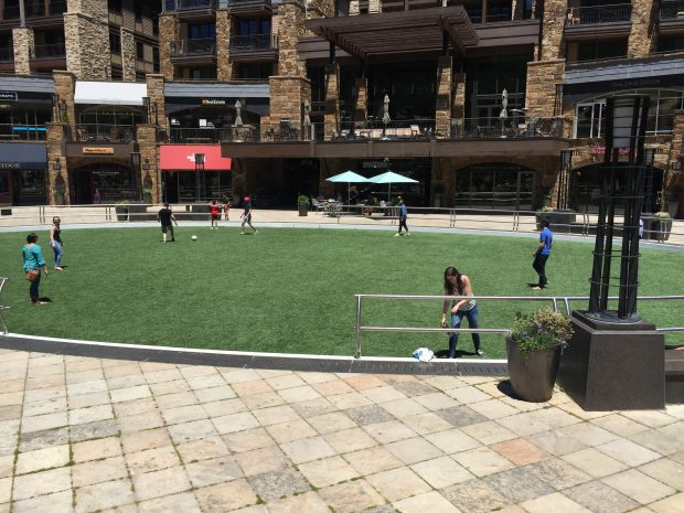 The Greenspace in Vail Village