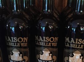 The Merlot at Maison la Belle Vie is as good as we've had in Western Colorado!