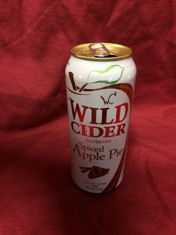 Wild Cider Spiced Apple Pie Hard Cider