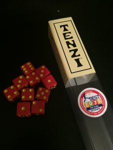 If you can roll dice and count to six, you can probably play Tenzi.