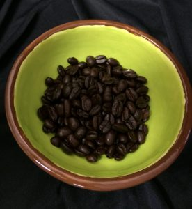 Perfectly dark roasted Tucan Espresso Sexy Seven Beans